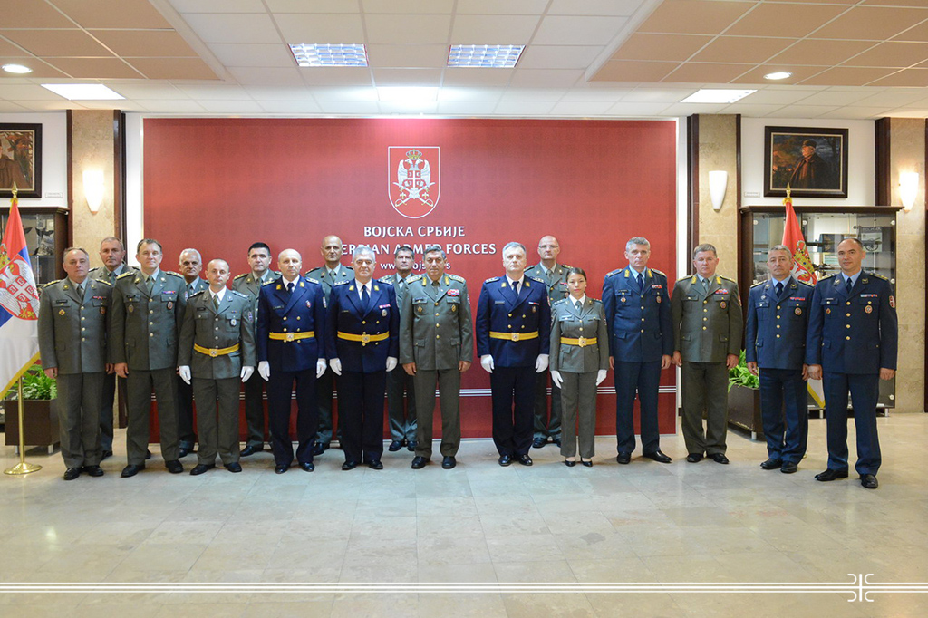 General Dikovic primio delegaciju snsl.jpg